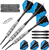 Fat Cat Bulletz 90% Tungsten Steel Tip Darts with Storage/Travel Case
