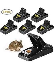 Ales Mouse Traps, Herbruikbare Snap Trap Hoge Gevoelige Kunststof Muizen Catcher, Knaagdier Traps Mouse Control, Direct Snelle Reactie, voor Kleine Muizen, Binnen & buiten, Huisdier Veilig