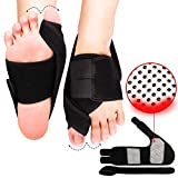 Bunion Corrector, Orthopedic Bunion Corrector, Big Toe Bunion Splint Night Bunion Brace, Adjustable Soft Bunion Corrector and Bunion Relief for Men/Women