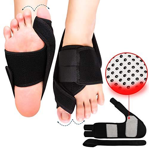 Bunion Corrector, Orthopedic Bunion Corrector, Big Toe Bunion Splint Night Bunion Brace, Adjustable Soft Bunion Corrector and Bunion Relief for Men/Women