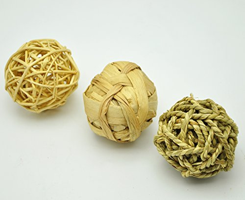 Niteangel Small Animal Activity Toy, Fun Pet Balls (Pack of 3)