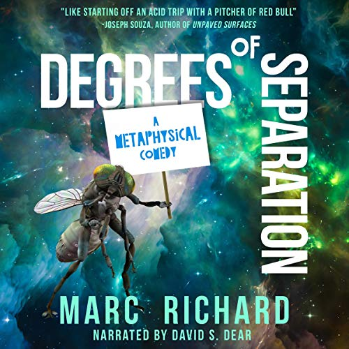 Degrees of Separation: A Pseudonovel audiobook cover art