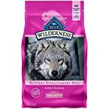 Blue Buffalo Wilderness High Protein Grain Free Natural Adult Small Breed Dry Dog Food, Chicken 4.5-lb