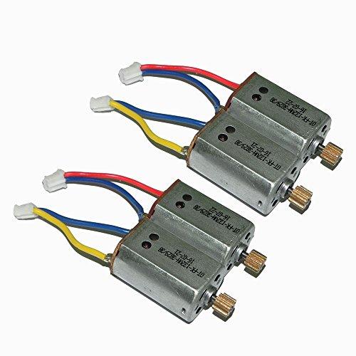 2PCS foreward motor+2PCS reversal motor engine For WL Wltoys Q333 Q333A Q333B Q333C RC Quadcopter drone