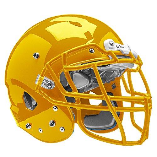 Schutt Sports Vengeance VTD II Football Helmet Without Faceguard, Gold, Medium