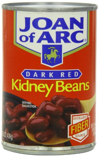 Joan of Arc Beans, Dark Red Kidney Beans, 15.5 Ounce (Pack of 12)