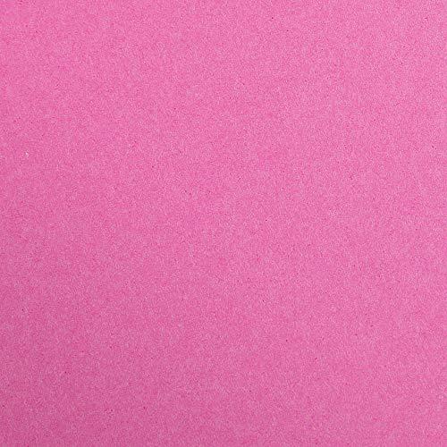 Clairefontaine 97260C Packung (mit 25 Bögen Zeichenpapier Maya, 50 x 70 cm,270g, glatt, ideal für Trockentechnik und Einrahmen) pink