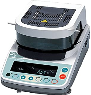 A&D Weighing MF-50 Moisture Determination Balance, 51g x 0.002g, 115 V