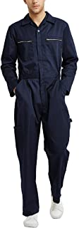 Men's Big-Tall Action Back Coverall with Zipper Pockets