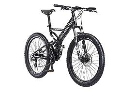 "top rated 26 "" Mongoose Blackcomb Mountain Bike, Black 2021"