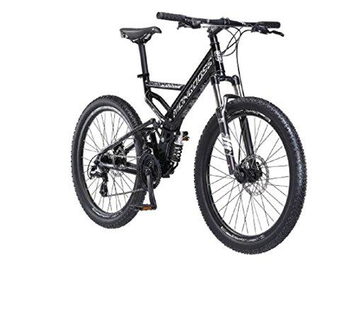 """Bicicleta de montaña Mongoose Blackcomb de 26 """", color negro"""