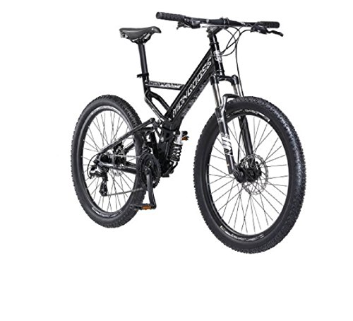 26' Mongoose Blackcomb Mountain Bike, Black