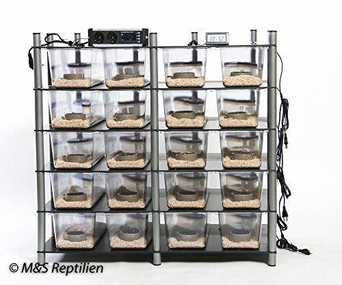 M&S Rack System, 20 Wannen, JUNIOR