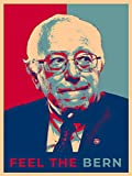 United States USA President Presidential Election Voting 2020 Bernie Sanders Democratic Party White House Candidates 18x24 - Vinyl Print Poster (Bernie A) - Gifts For Him, For Her, For Boys, For Girls
