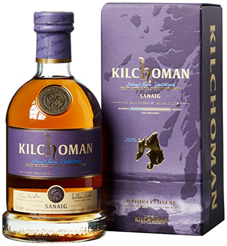 Kilchoman Sanaig Single Malt Whisky (1 x 0.7 l)