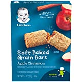 Gerber Soft Baked Grain Bars, Apple Cinnamon, 8 Count