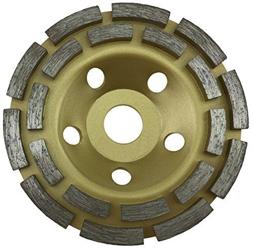 PRODIAMANT Diamant-Schleiftopf Standard 125 mm x 22,2 mm für Beton, Mauerwerk, Stein doppelreihig Diamantschleiftopf 125mm