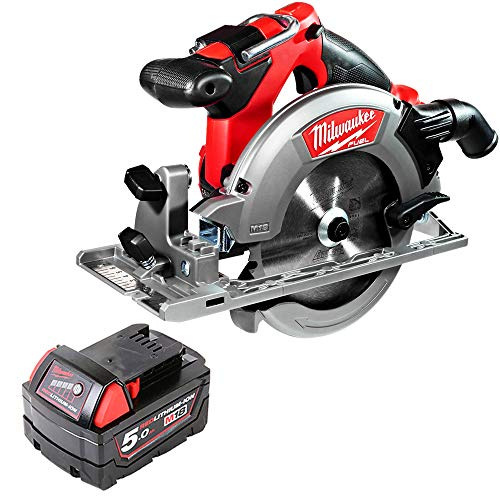Milwaukee M18CCS55 18V Fuel Circular Saw 165mm with 1 x 5Ah Battery
