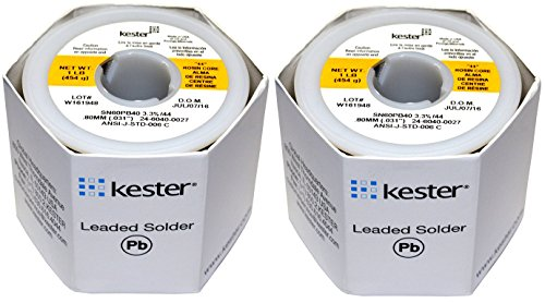 KESTER SOLDER 32117 24-6040-0027 60/40 Stand, 0.031