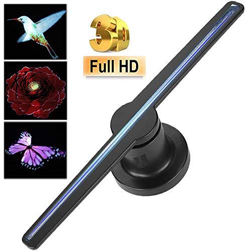 Proyector holográfico,resolución 450*224 WiFi Portátil LED Ventilad