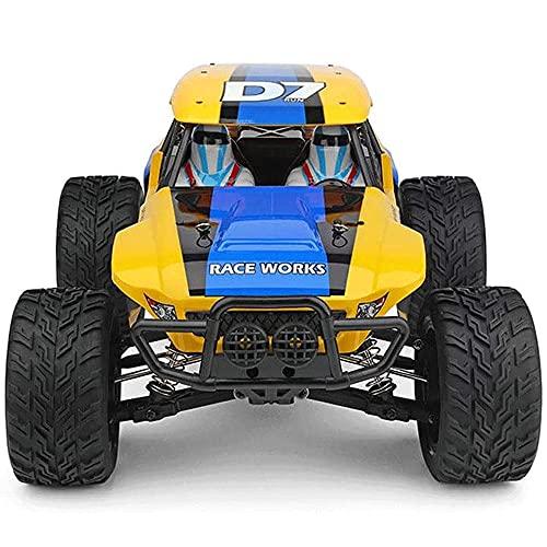 WANGCH 1:12 Off-Road Control Remoto Coche de Juguete 4WD Todo Terreno Escalada Vehículo RC Recargable Drift RC Buggy 2.4G Bigfoot Monster RC Truck Regalos para niños y Adultos