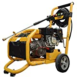 <span class='highlight'><span class='highlight'>Rocwood</span></span> Petrol Pressure Power Washer Electric Start 3950 PSI 8HP Jet Washer Free Oil & Turbo Nozzle Attachment