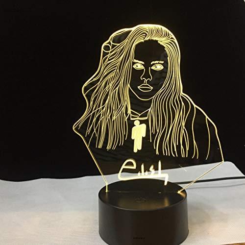 Famosa Estrella de Control Remoto lámpara de luz Nocturna decoración de la Sala de Oficina lámpara de Mesa Ventilador Regalo luz Nocturna