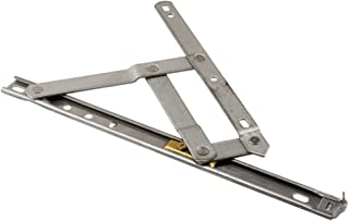 Prime-Line Products H 3628 Standard Duty Casement Window Hinge, 12-Inch, Stainless,(Pack of 2)