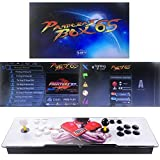 TAPDRA Video Machine Classic, 2 Players Pandora's Box 6S Multiplayer Home Arcade Console 2700 All in 1 Games 35 3D Games Non-Jamma PCB Double Stick HDMI Power Buttons Support 4 Players