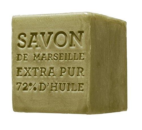 Terra by Compagnie de Provence Savon de Marseille à base de 72 % d'huile d'olive 400 g