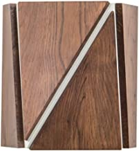 CAILIN LED-ijdelheidslicht Houten wandkandelaars muurverlichting hout art deco woonkamer eetkamer gang wandlamp met afstan...