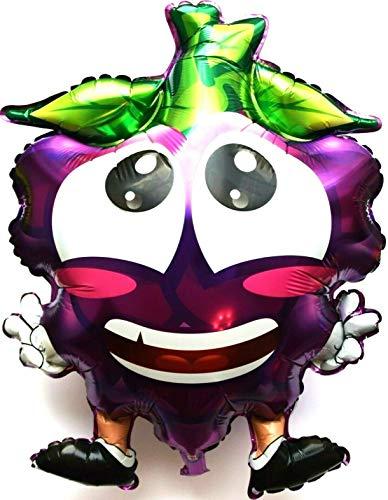 SauParty XL Helium Folienballon Weintraube Frucht Garten Trauben Bio Saft Sommer