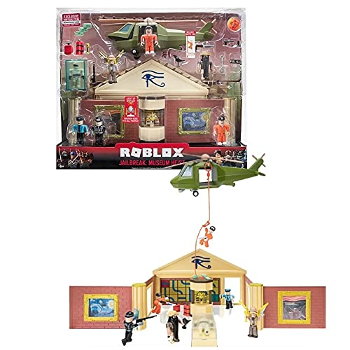 Roblox Playset De Luxo Jailbreak Museum Heist, Sunny Brinquedos, Multicor