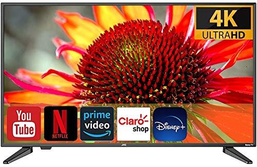 JVC TV 50' LED 4K 3840 X 2160P 60Hz Smart TV ROKU Integrado (Renewed)