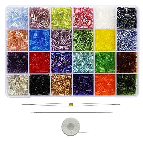 Bala & Fillic - Bola de cristal con bolas de cristal (7200 unidades, 24 colores)
