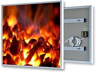 coldfig hting höchststufe 595* 1005mm 600W plata marco de aluminio/Pet y de fernes infrarrojos–Panel calefactor eléctrico pared Calefacción