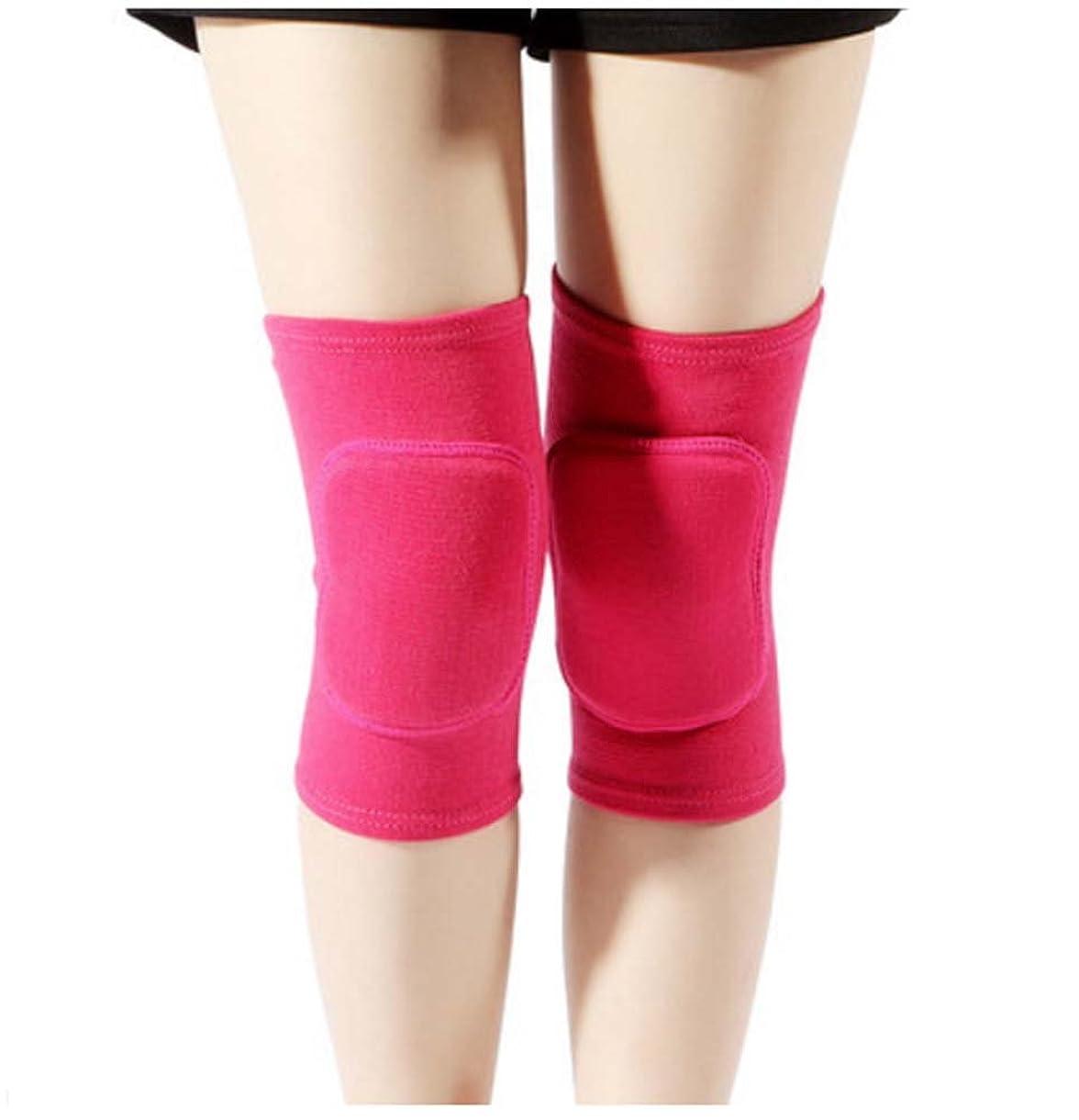 省略秘書実施するレディーススポーツダンスを楽しむ膝/膝を鍛えるスポーツ膝、ローズ赤
