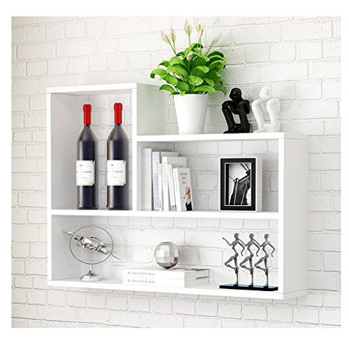 LWqszwj IJzeren kunst Planken Wandplank Woonkamer slaapkamer Keuken opknoping kast Eenvoudige TV achtergrond Decoratief frame Klapbord hanger