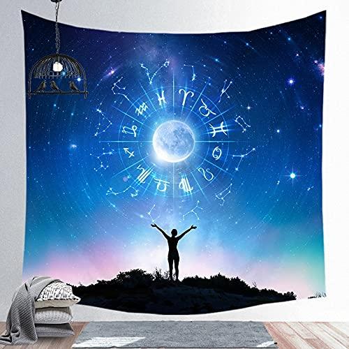 KHKJ Tapiz de Mandala Indio, Colcha de Yoga, Colcha Hippie, decoración del hogar, Colgante de Pared, Tapiz de Toalla de Playa Bohemia A10 95x73cm