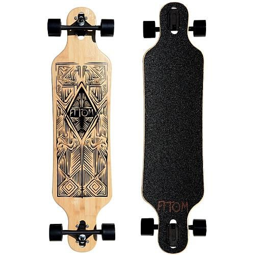 Atom Drop Through - Longboard (102 cm)