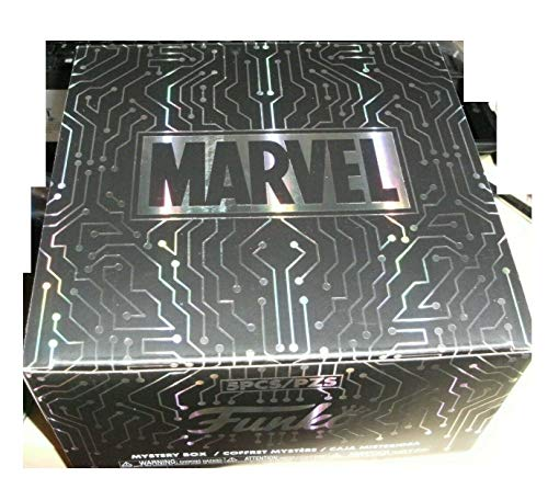 Funko Pop! Marvel Gamer Gamestop Mystery 5 Piece Box Deadpool Miles Morales Spiderman Groot
