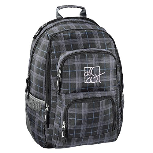 All Out Rucksack Louth (Harvest Check, 26 Liter) grau
