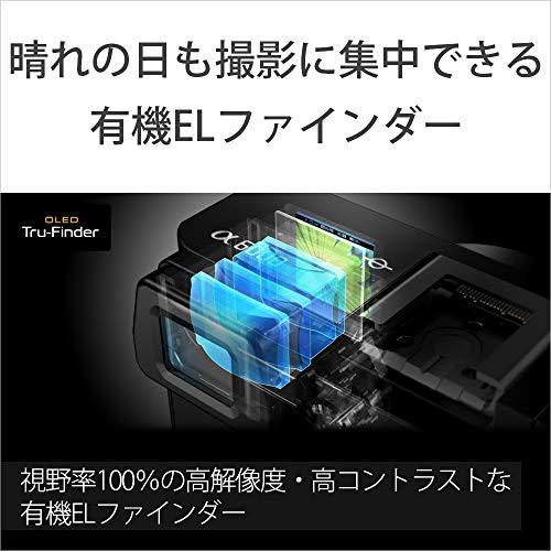 ソニーミラーレス一眼α6000パワーズームレンズキットEPZ16-50mmF3.5-5.6OSSブラックILCE-6000LB