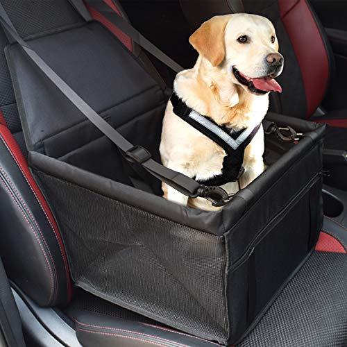 SZ-Climax Hond Auto Stoel, Hond Booster Stoel Waterdicht Huisdier Reizen Voertuig Kleine Hangmat met Clip-on Veiligheid Leash voor Kat Puppy | Draagaccessoires