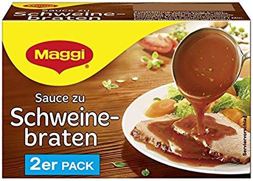 Maggi Sauce zu Schweinebraten, 2er Pack, ergibt 2 x 250 ml