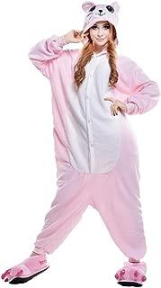 Unisex Adult Pink Mouse Pajamas Halloween Costume