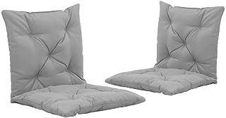 Festnight Set di 4 Cuscini per Sedia a Sdraio Cuscini per Sedie da Giardino120x50x3 cm//100x50x3 cm Cuscino Imbottito per Sedia reclinabile con Cinghie Cuscino Prendisole Colori Diversi