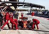 Generic Poster, Motiv Sebastian Veltel F1 Formel 1 Ferrari