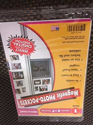 Freeze-A-Frame Selling and selling Magnetic Photo Pockets Frames Slam 5'' Proo 7'' x Popular popular