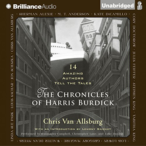 The Chronicles of Harris Burdick audiobook cover art